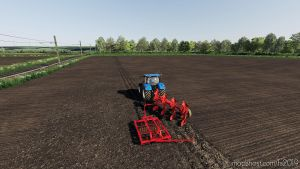 Kuhn Varimaster 4 Scharr With Packer for Farming Simulator 2019