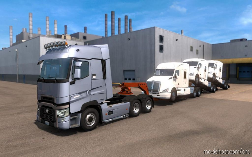 Renault T Range (Scs) Conversion 1.35 for American Truck Simulator