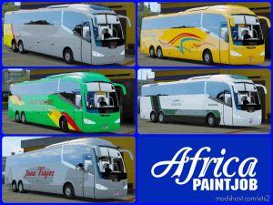 Africa Paintjob – Packskins – Buses Morocco Irizar I6 – Ets2 1.36 for Euro Truck Simulator 2