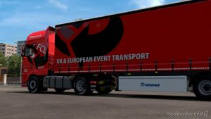 First Call Logistics Daf And Trailer Skin for Euro Truck Simulator 2