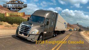 Freightliner Cascadia 2018 V1.14 Fix 1.36 for American Truck Simulator
