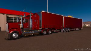 Tsa Drop Trailers V1.3.6 for American Truck Simulator