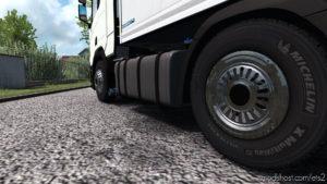 Chrome Caps For Wheels V1.0.3 for Euro Truck Simulator 2