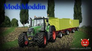 Fendt 800 Vario TMS V1.1 for Farming Simulator 2019