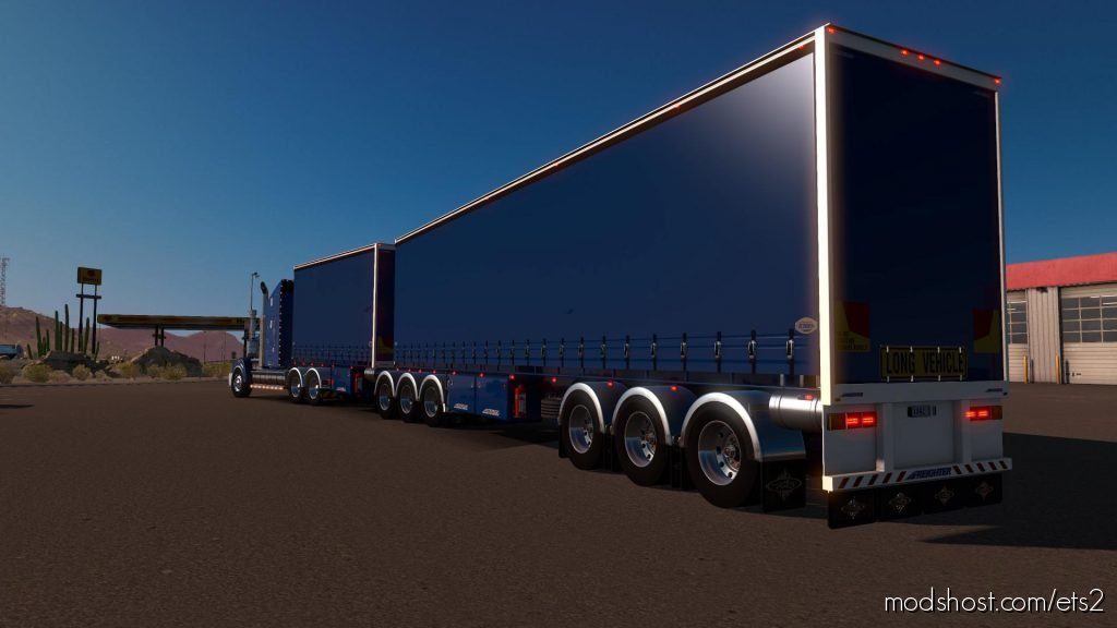 Drop Trailers 1.36.X for Euro Truck Simulator 2