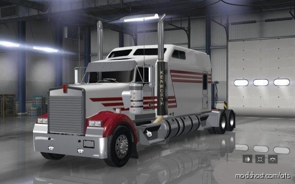Kenworth W900 Long [1.35+] for American Truck Simulator