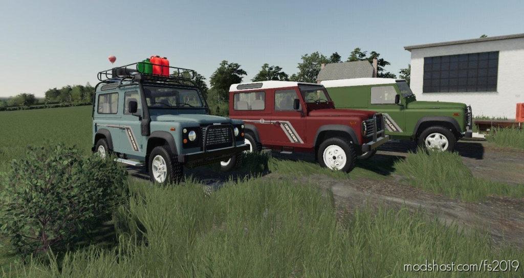 Land Rover Defender Pack for Farming Simulator 2019