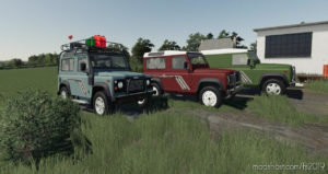 Land Rover Defender Pack for Farming Simulator 2019