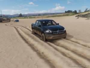 New Mercedes X-Class for Farming Simulator 2019