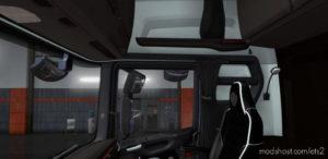 Scania S & R Black – White Interior 1.36.X for Euro Truck Simulator 2