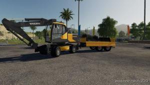 Pack Excavator Volvo V1.4 for Farming Simulator 2019