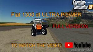 Fiat 1300DT for Farming Simulator 2019