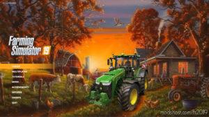 Autumn Farm Menu Background for Farming Simulator 2019