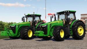 John Deere 8R Serie By Regazz for Farming Simulator 2019