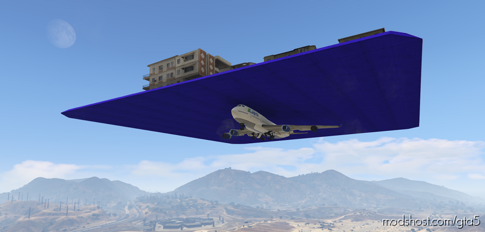 Flying City for Grand Theft Auto V
