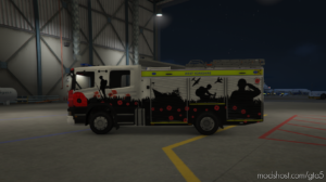 West Yorkshire Fire & Rescue Service – Remembrance Livery – British – 2015 Scania P280 for Grand Theft Auto V