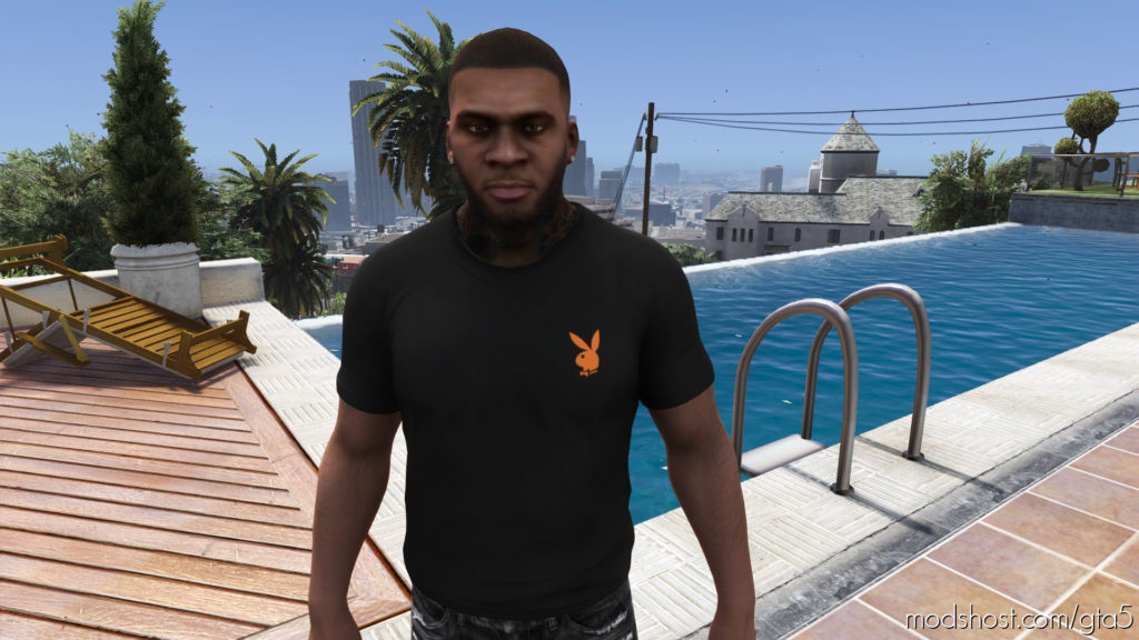 Vlone X Playboy TEE [Multiple Colors] for Grand Theft Auto V