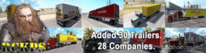 AI Global Trailes Rckps (1.36.X) for Euro Truck Simulator 2