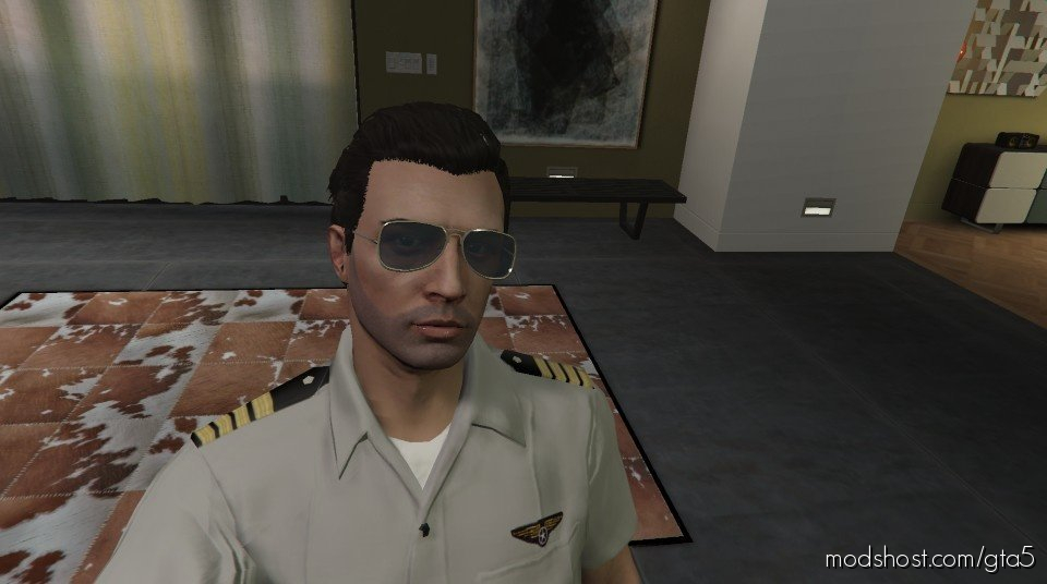 Captain Uniform For MP Male for Grand Theft Auto V