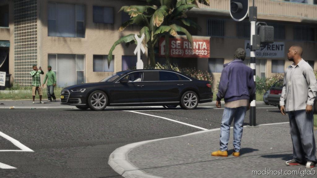 Audi A8 Stretched, Royal Dutch Family [Els] V1.1 for Grand Theft Auto V
