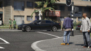 Audi A8 Stretched, Royal Dutch Family [Els] V1.1 for Grand Theft Auto V