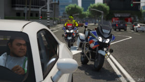 BMW R1200RT Dutch Police (Landelijk) [ELS] for Grand Theft Auto V