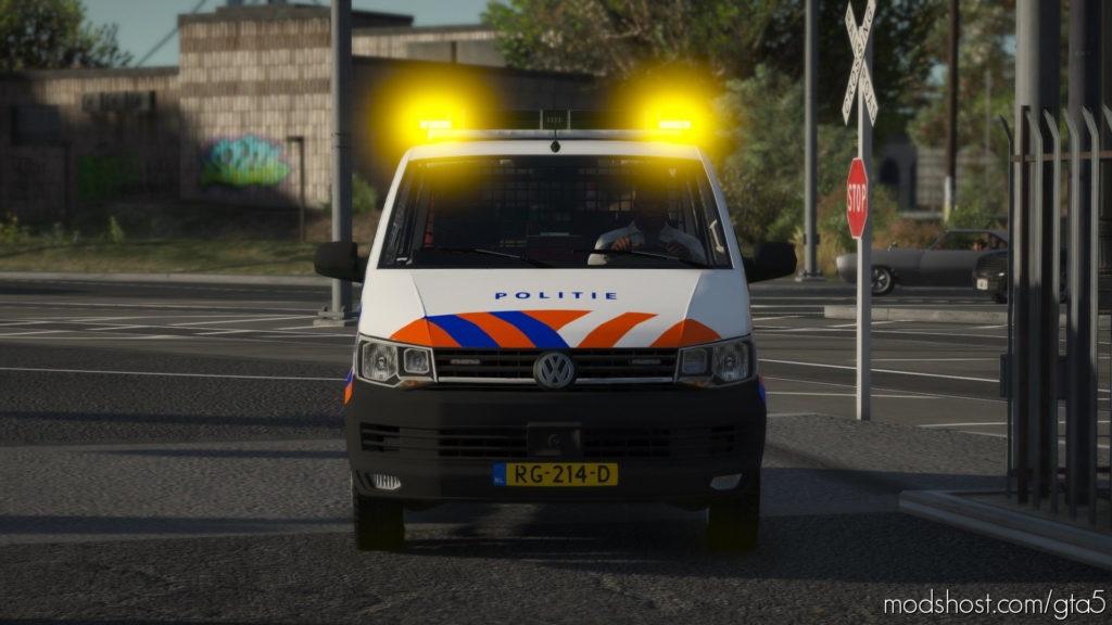 Volkswagen T6 [Amsterdam] [Els, Reflective] V1.1 for Grand Theft Auto V