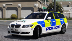 Merseyside Police BMW 330D E91 (Traffic – 2012) for Grand Theft Auto V