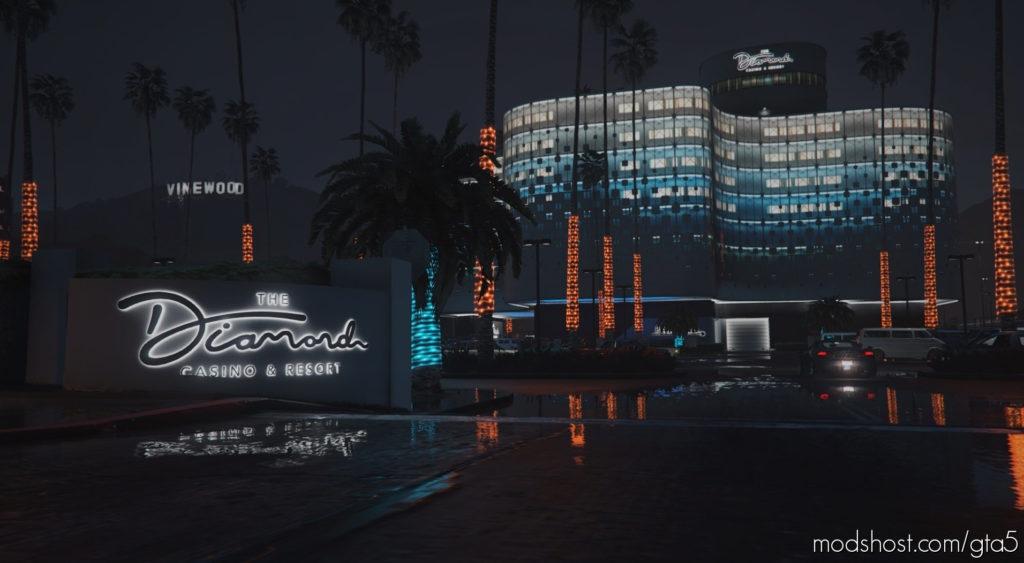 Diamond Casino Neon Palms V2.0 for Grand Theft Auto V