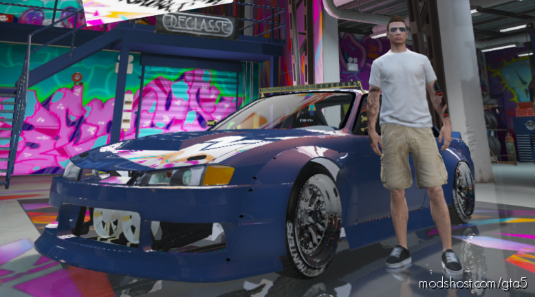 Nissan S14 [Fivem/Replace] for Grand Theft Auto V