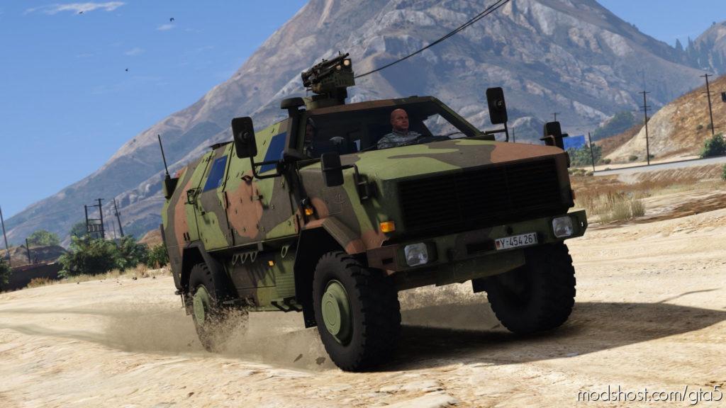 KMW ATF Dingo Bundeswehr for Grand Theft Auto V