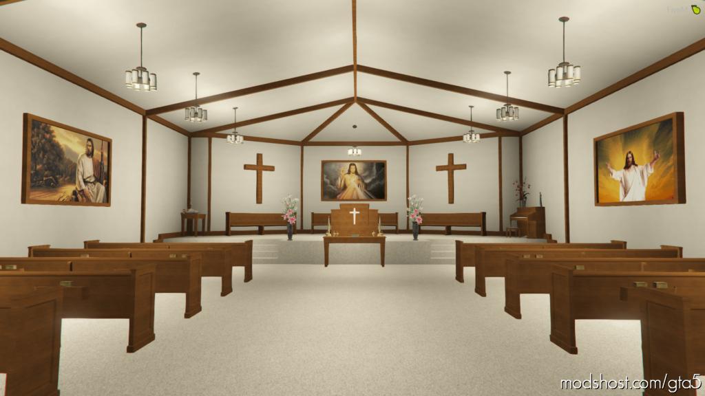 [SP & Fivem] Church Interior for Grand Theft Auto V