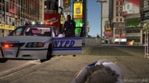 2003 Nypd Chevrolet Impala [Add-On / Fivem] for Grand Theft Auto V