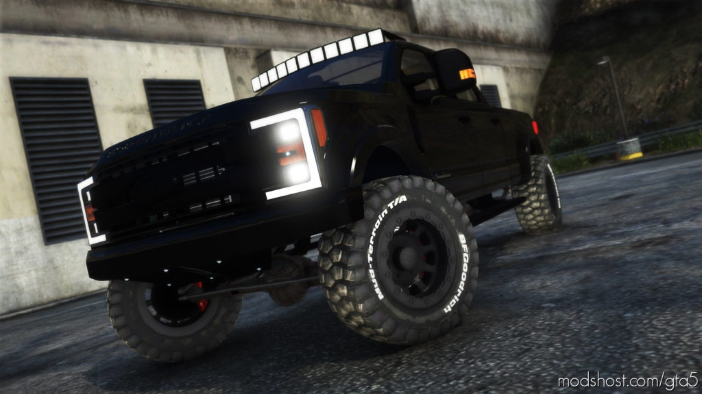 "Ford F-250 2017 Brad Debertis ""Transformer"" Tool Truck [Add-On] for Grand Theft Auto V"