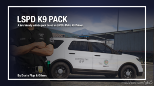 Lspd K9 Mini Pack [Add-On] for Grand Theft Auto V