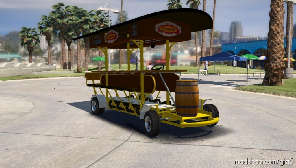 Pedal Beer BUS V0.3 for Grand Theft Auto V