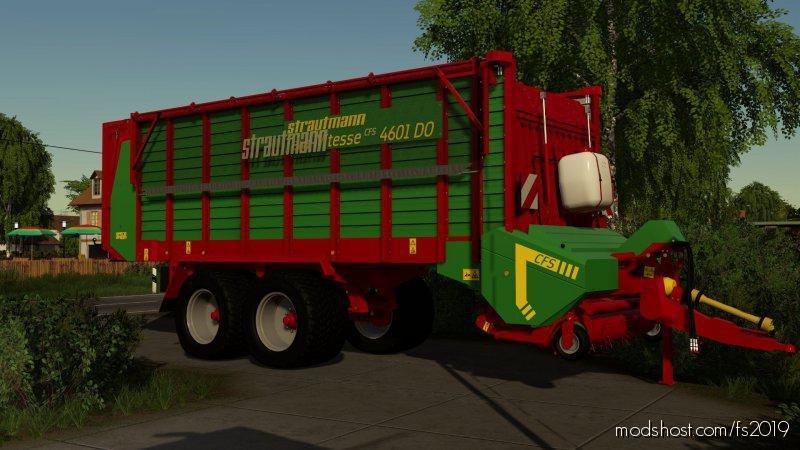 Strautmann Teravitesse 4601 for Farming Simulator 2019