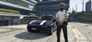 Polo Estiva Polizia Locale PER Michael NON EUP for Grand Theft Auto V