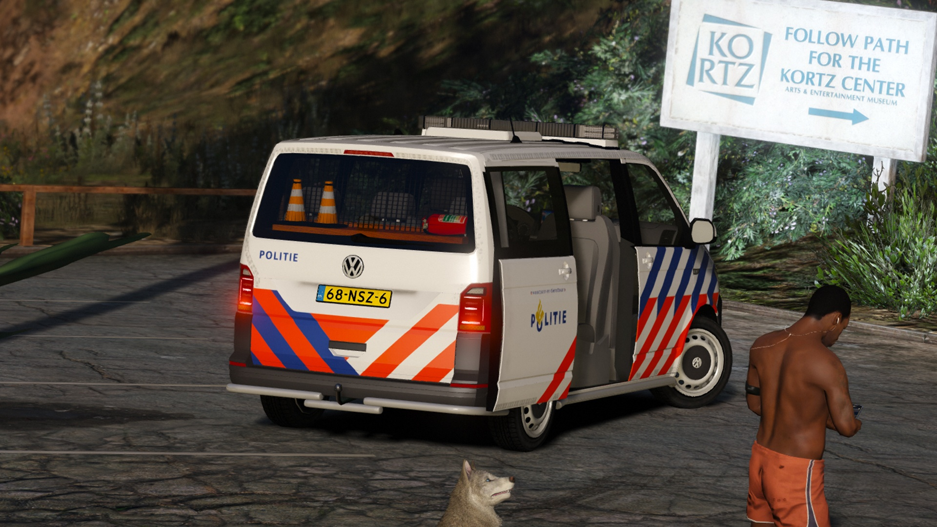 Volkswagen T6, Dutch Police, TeamMOH [ELS] for Grand Theft Auto V