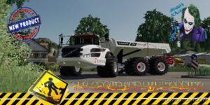 Tombereau Volvo Eiffage V1.5 for Farming Simulator 2019