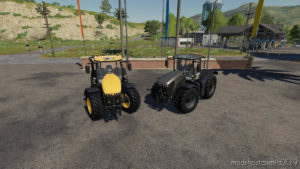 JCB Fastrac 8000 Series for Farming Simulator 2019
