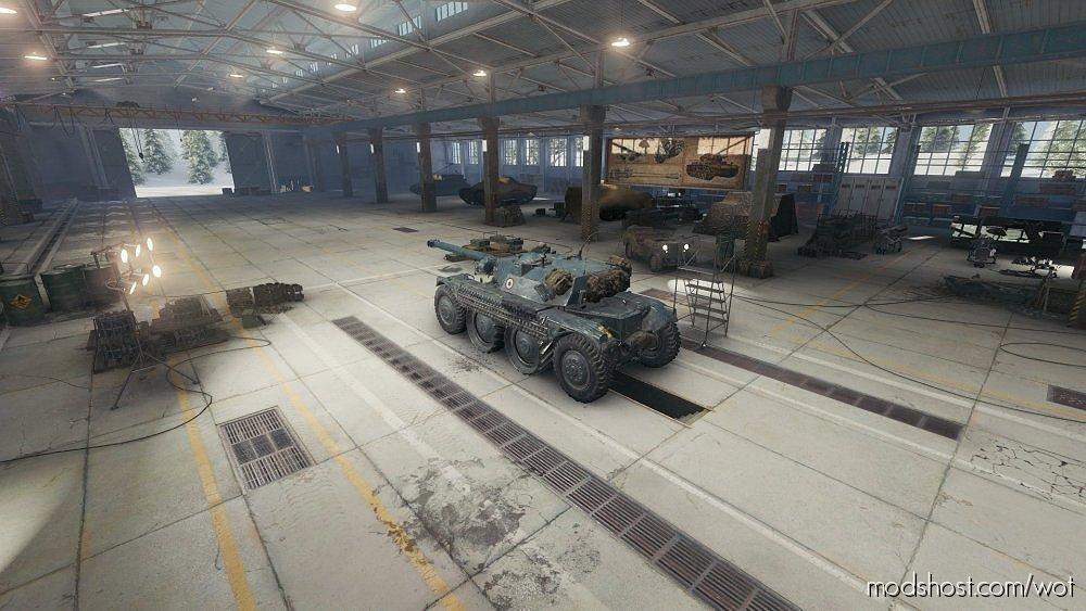 Hangar Premium V2 [1.6.1.4] for World of Tanks