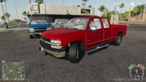 1999 Chevy Silverado 1500 Plow Startup Edit for Farming Simulator 2019