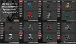 SCS Truck Dealer 1.36.X for Euro Truck Simulator 2