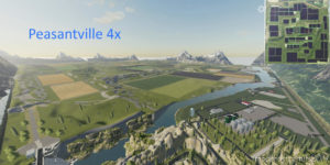 Peasantville 4X for Farming Simulator 2019