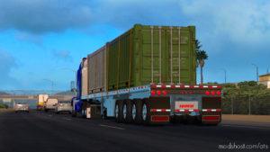 Platform Doepker Flatbed Trailer IN Ownership 1.36 for American Truck Simulator
