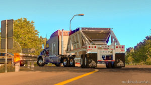 Dump Truck Trailking Belly Dump IN Ownership [1.36] for American Truck Simulator