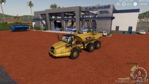 Cat 745C V0.1 for Farming Simulator 2019