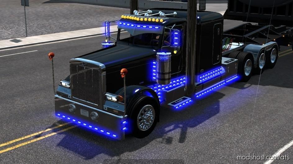 Outlaw Custom Peterbilt 379 V3.1 for American Truck Simulator