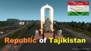 Map Of The Republic Of Tajikistan 1.36.X for Euro Truck Simulator 2